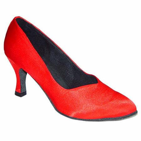 ダンスシューズ・社交ダンスシューズ・レディース【セミオーダー】女性モダンシューズ・赤レッド690305セミオーダー品ですのであなたにぴったりの1足がつくれますよ♪