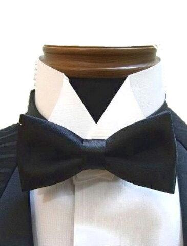 蝶ネクタイ 社交ダンス 衣装 ベスト ジャケット 用 チョウ タイ 5cm幅 黒 東京トリキン