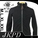 【Junky's Paradise】 JSW-401 刺繍裏毛フードインネックパーカー  【ジャンキーズパラダイス】