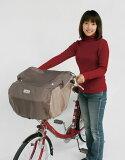 【レターパック2個までOK】自転車用 フロントチャイルドシートカバー D-5FB ブラウン 【大久保製作所 MARUTO】