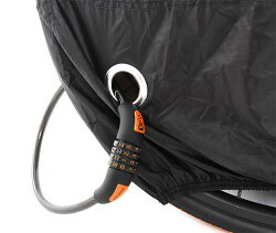ドッペルギャンガーパッカブルバイシクルカバー*DCC092ーBKブラック小径自転車用運び袋キャリーバッグ