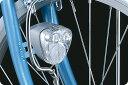 JIS規格に適合した抜群の明るさ【CATEYE】ハブダイナモ用 高輝度LEDヘッドライト HL-HUB100