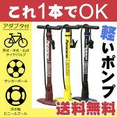 [最大ポイント7倍][送料無料]自転車用 おすすめ空気入れパナレーサー楽々ポンプBFP-PSA英式 米式 仏式 全てのバルブに対応、ボール・浮き輪・ビニールプールアダプタ付き