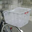 【OGK】自転車用後ろかご RB-005 ライトグレー 固定式