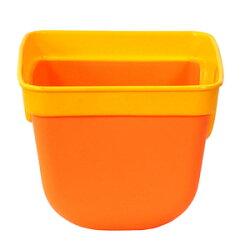 幼児用前かごSW-911プラバスケットイエローオレンジ
