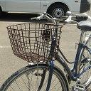 [最大ポイント8倍]自転車用前かご ワイドタイプ GK-601 フロントバスケット