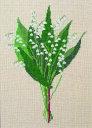 フレメ クロスステッチ 刺繍キット 【スズラン】花と樹木 デンマーク 輸入ししゅうキット