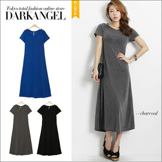 Most popular adult style staple items! Solid A rheinmaxiwanpeace / women's one piece solid resort flare casual elegant stretch DarkAngel / Dark Angel