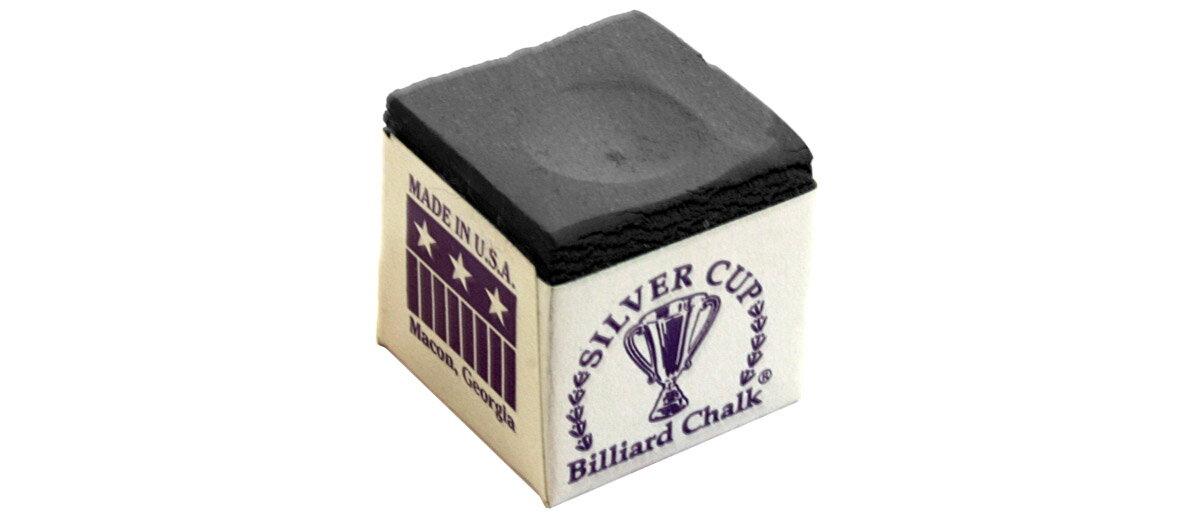 ビリヤードチョーク ビリヤード用品|シルバーカップチョーク グレー(1個)