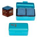 【期間限定セール】ビリヤードチョーク メイヒン チョーク 2個入り 箱/青 (MEIHIN Chalk Alumi Case Blue)