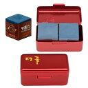 【期間限定セール】ビリヤードチョーク メイヒン チョーク 2個入り 箱/赤 (MEIHIN Chalk Alumi Case Red)