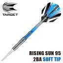 ダーツバレル TARGET RISING SUN 95 2BA ライジングサン 村松治樹モデル (ポスト便不可)