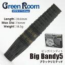 ダーツバレル GREENROOM BigBandy 5 ブラックリミテッド (ポスト便不可)