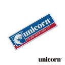 ダーツ アクセサリー unicorn ワッペン 4cm×12cm 85061 (メール便OK/1トリ)