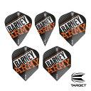 ダーツ フライト TARGET BARNEY ARMY FLIGHT ヴィジョン ウルトラ バーニーアーミー334320-334360 (メール便OK/1トリ)