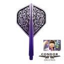 CONDOR(コンドル)フライト 濱田緒里絵 Frame クリアパープル (ポスト便OK/5トリ)