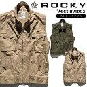 ベスト ロッキー ミリタリー 作業服 [ROCKY] RV1902 ROCKY ストレッチツイル ユニセッ