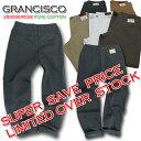 GRANCISCO(数量限定) グランシスコ ワークパンツ GC-2510 スラックス 作業ズボン【秋冬】【綿パン】【メンズ パンツ】【スラックス】【作業服 スラックス】【ズボン】【作業服】【作業着】【ユニフォーム】GC-2500シリーズ【105-120】