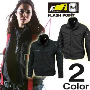 ストレッチタフワークジャケット フラッシュ インパクト ハイブリッド ワーキング シリーズ ブルゾン
