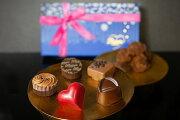 口どけなめらかな絶品トリュフや新作粒『トリアングル』が入った詰め合わせ『デジレー』ショコラ&トリュフ(10ヶ入)ママ友や主婦友との楽しいひと時にこちらの商品を1個ご購入でミニチョコBOXを1箱プレゼント2019 バレンタイン チョコレート