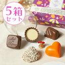 送料無料上司・先輩への感謝チョコに(計5箱セット)多彩な果実...