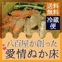 【送料無料】熊本県産 ぬか漬け セット ぬか好きにはたまらない!八百屋が創った愛情ぬか床 【おまけ野菜付き!!】