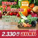 【 送料無料 】 九州 熊本産 定番旬野菜 7品以上保証 安...
