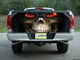 ピックアップトラック テールゲート デカール ステッカー汎用品 死神 [タンドラ][タコマ][シルバラード][ラムトラック][アバランチ]などに [アメ車][逆輸入車][パーツ][デイブレイク]