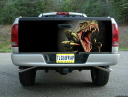 ピックアップトラック テールゲート デカール ステッカー汎用品 恐竜 [タンドラ][タコマ][シルバラード][ラムトラック][アバランチ]などに [アメ車][逆輸入車][パーツ][デイブレイク]