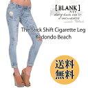 送料無料 即納 BLANK NYC ブランクニューヨークシティー スティックシフト レドンドビーチ USA The Stick Shift Redondo Beach Jeans d..