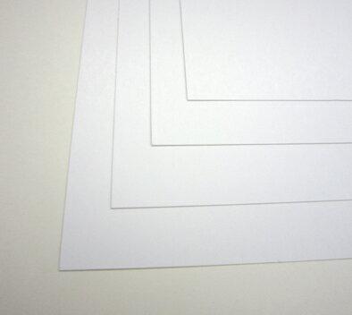 再生名刺用紙ホワイト A3紙厚0.25mm 500枚入 75R-A3古紙パルプ配合率10%以上【印字後、名刺カッター・裁断機にて裁断加工してください】※レーザープリンタ用です