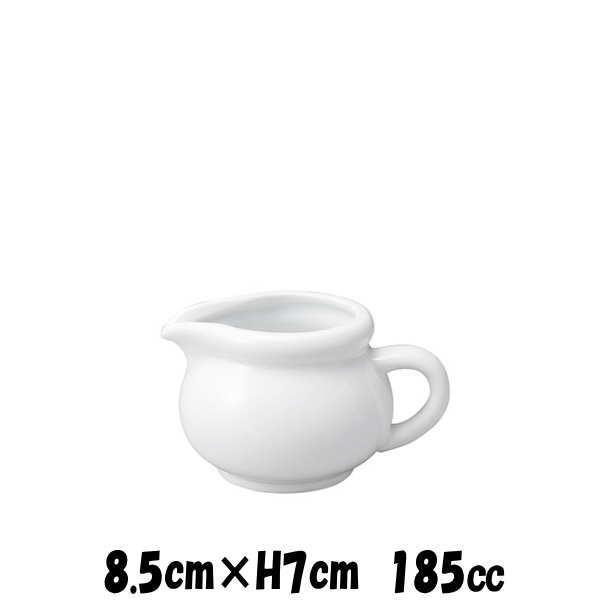 シックピッチャー 白 クリーマーミルクポットミルクピッチャー カフェ食器 陶器磁器 おしゃれな業務用食器
