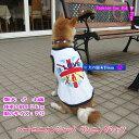 犬服 ハートユニオンジャック・ランニングシャツ(大型犬用)【犬の服2点購入でメール便送料無料】ドッグウェア