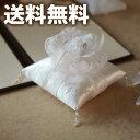 【送料無料】ホワイトエンジェル(スクエア)【綿付】【リングピロー 手作りキット】