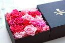 プリザーブドフラワー 全面フラワーボックス Largeサイズ 【花 フラワーボックス 箱 花 結婚祝い 退職祝い 引き出物 誕生日 プロポーズ プレゼント】