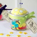 メイソンジャー ピンクッション 小物入れ 針山 裁縫 手芸 アメリカ雑貨 針 待ち針 まち針 お裁縫 可愛い 雑貨 ボタン ボビン