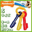USA直輸入☆ Nylabone ナイラボーン パピーティージングキー Sサイズ 【犬用おもちゃ 噛むおもちゃ パピー用 犬用 おもちゃ】