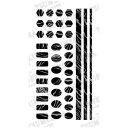 【代引き・同梱不可】TSUMEKIRA(ツメキラ) ネイルシール noble zebra marble (ジェル専用) NO-ZEM-101