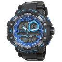 【代引き・同梱不可】T-sports アナデジ 腕時計 TS-AD046-BKB
