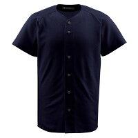 デサント(DESCENTE) フルオープンシャツ (野球) DB1010 ブラック M【日時指定不可】の画像