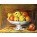 世界の名画シリーズ、プリハード複製画 ピエール・オーギュスト・ルノアール作 「リンゴ」【代引不可】【日時指定不可】