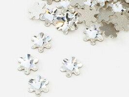 スワロフスキー#2826 Rivoli Snowflake FB スノーフレーク クリスタル5mm 1粒
