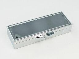 [デコ素材]長方形ピルボックス 収納6箇所/ピルケース/薬入れ/小物入れ/ポケットサイズ 【ゆうパケット不可の商品】
