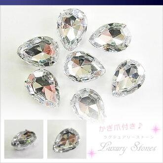 드롭 (물방울 형) 아크릴 모조 다이아몬드