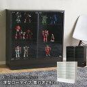 コレクションケース 深型 フィギュアケース コレクションラック ガラス棚 palace ロータイプ 奥行き29cm 本体 ガラス 棚 フィギュアラック 壁面収納  ホワイト ダークブラウン シンプル