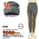 日本製 発熱する裏起毛あったかスパッツ(10分丈) 防寒 吸湿発熱スパッツ レディース インナー レギンス冬