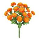 【夏・造花】マリーゴールドブッシュ X 15(オレンジ)