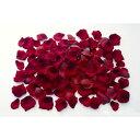 ベルベットローズペタル(約120枚パック)(レッド)(FLE7008RD)[ローズペタル 花吹雪 ベルベッド ベルベット 造花 花びら 桜 結婚式 フラワーシャワー]