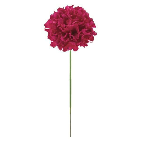 【光触媒】カーネーションピック(マルベリー)【造花・アートフラワー】