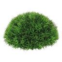 20cmグリーングラスハーフボール(プラスチック)(ツートングリーン)【観葉植物・フェイクグリーン】